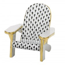 Herend adirondack chair black