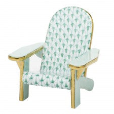 Herend adirondack chair green