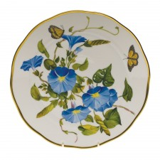 Herend american wildflowers morning glory dinner plate