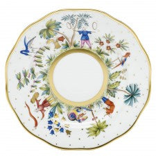 Herend asian garden dessert plate