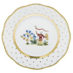 Herend China Asian Garden Bread & Butter Plate