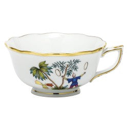 Herend China Asian Garden Tea Cup