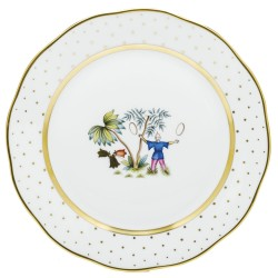 Herend China Asian Garden Dinner Plate