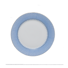 Mottahedeh blue lace bread & butter plate