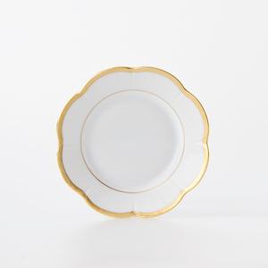 Royal limoges margaux gold bread & butter plate