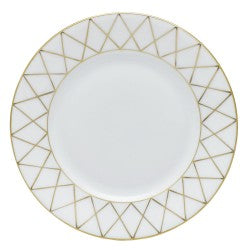 Herend golden trellis bread & butter plate