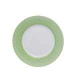 Mottahedeh apple green lace bread & butter plate