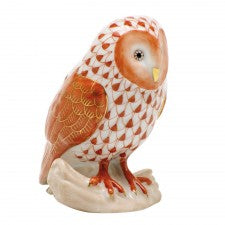 Herend barn owl rust