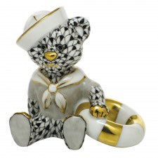 Herend sailor bear black