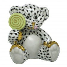 Herend sweet tooth teddy black