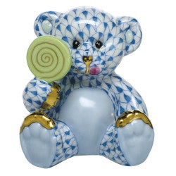Herend sweet tooth  teddy blue
