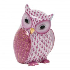 Herend mother owl