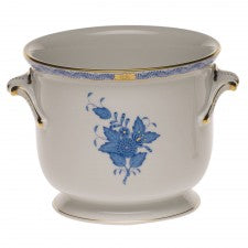 Herend chinese bouquet blue  small cachepot