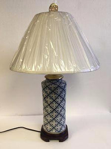 Thia Porcelain Lamp Blue And white