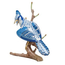 Herend blue jay