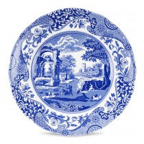 Spode Blue Italian Luncheon Plate Set Of 4