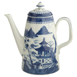 Mottahedeh Blue Canton Coffee Pot