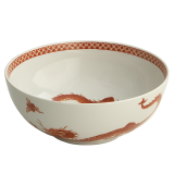 Mottahedeh red dragon bowl 9