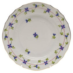 Herend blue garland bread and butter plate