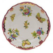 Herend queen victoria pink bread and butter plate