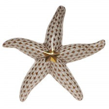 Herend starfish brown
