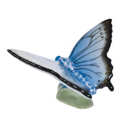 Herend buterfly blue