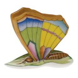 Herend butterfly menu holder