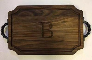 Wood Personalized Cutting Board Walnut