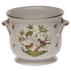 Herend rothschild bird large cachepot