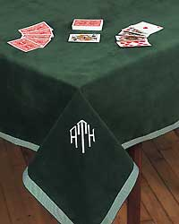 Card table cover