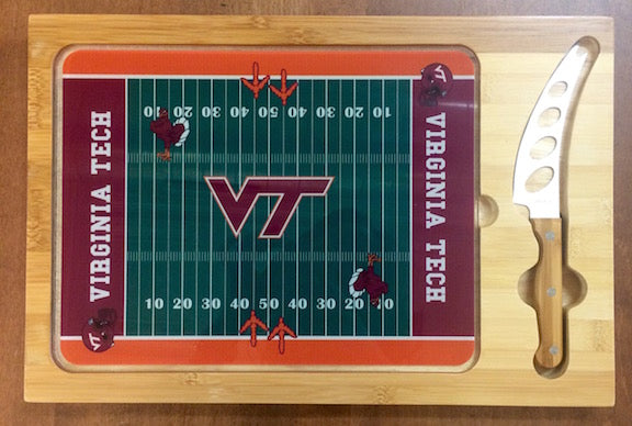 Virginia Tech Glass Top Cutting Board