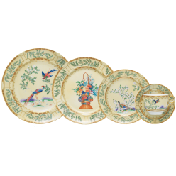 Mottahedeh ching garden 5 piece place  setting