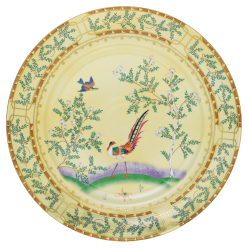 Mottahedeh ching garden chopt plate