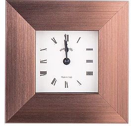 Italian wood alarm Clock