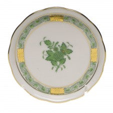 Herend chinese bouquet green coaster