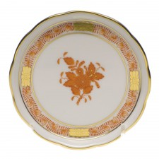 Herend chinese bouquet rust coaster