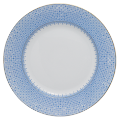 Mottahedeh cornflowwer lace dinner plate