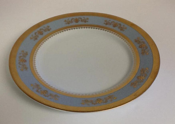 Deshoulieres Orsay Powder  Blue Dinner Plate