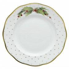 Herend winter shimmer dessert plate