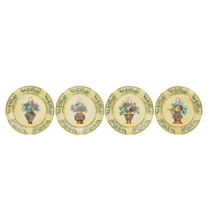 Mottahedeh ching garden dessert plate  set of 4