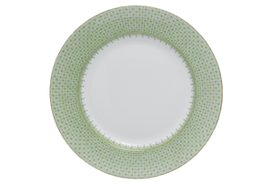 Mottahedeh apple green lace dinner plate