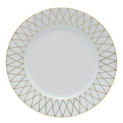 Herend golden trellis dinner plate