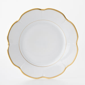 Royal limoges margaux gold dinner plate