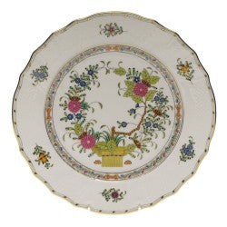 Herend indian basket dinner plate