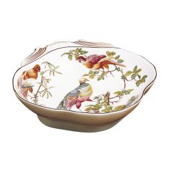 Mottahedeh chelsea bird shell dish