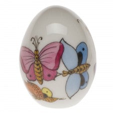 Herend miniature egg-butterflies
