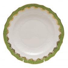 Herend Fish Scale Evergreen Salad Plate