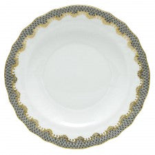 Herend Fish Scale Gray Salad Plate