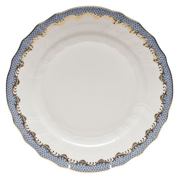 Herend Fish Scale Light Blue Dinner
