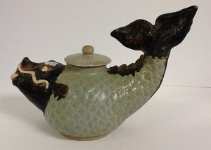 Thai Ceramic Fish Tea Pot